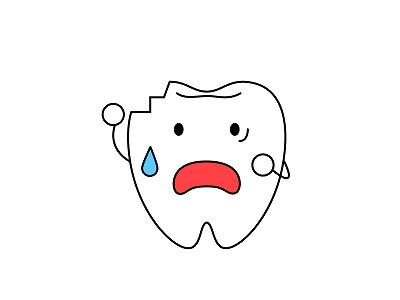 歯が欠けた