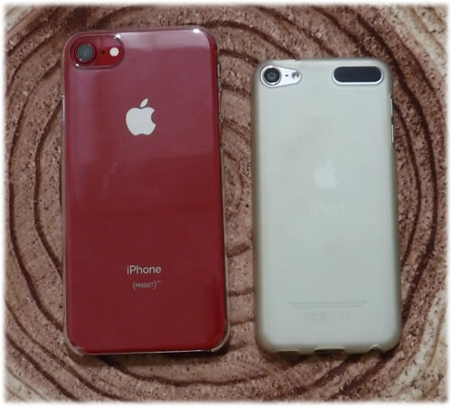 iPhone 8 とiPodtouch