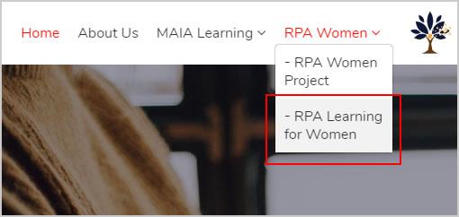 RPA女子会員登録