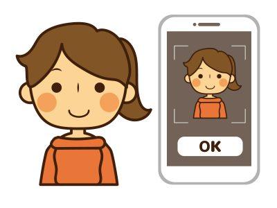 顔認証(Face ID)